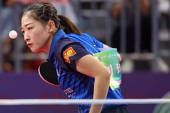 刘诗雯夺全运会女单铜牌