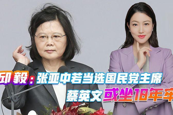 邱毅:张亚中若当选国民党主席,蔡英文或坐10年牢,他发现了啥?