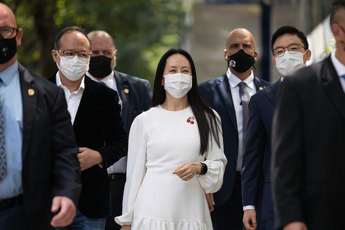 孟晚舟欣慰的事发生,中国大使曾打来电话:谁欺压中国人必遭痛击