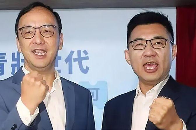 中国国民党主席选举号次出炉:江启臣1号,朱立伦4号