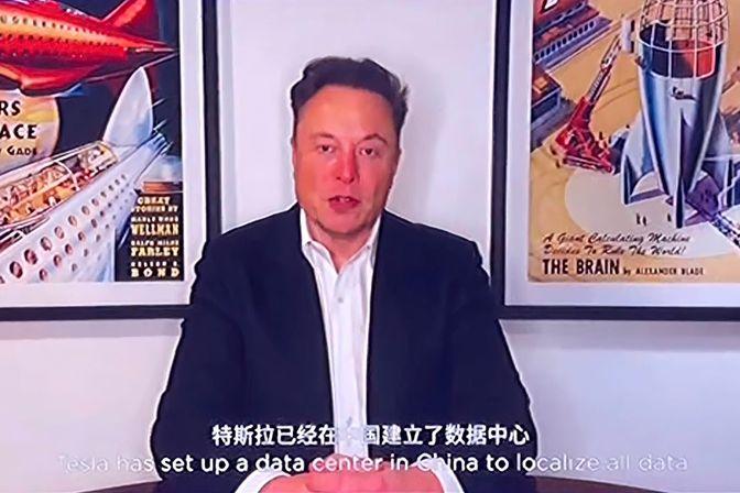马斯克称特斯拉数据储存在中国