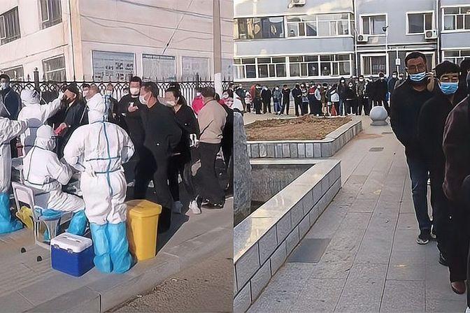 内蒙古二连浩特发现1名核酸阳性者,全市实行封闭管理