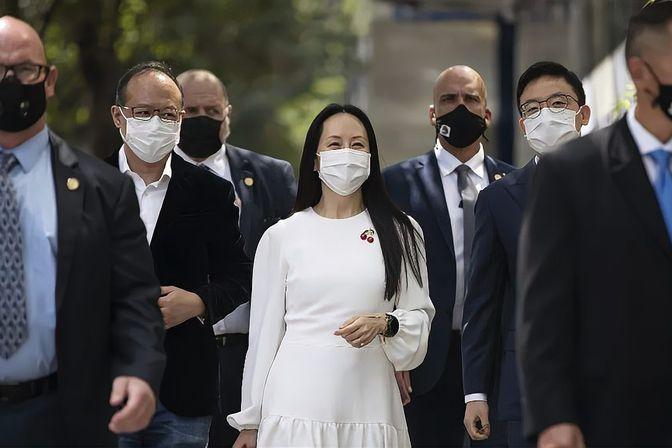 孟晚舟遭加拿大无理拘押,王健:背后是美、加不可告人的政治目的