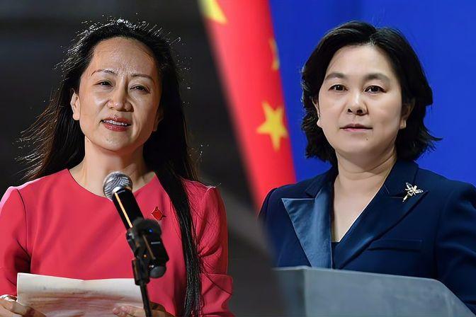外交部评孟晚舟回国:没有任何力量能够阻挡中国发展前进的步伐