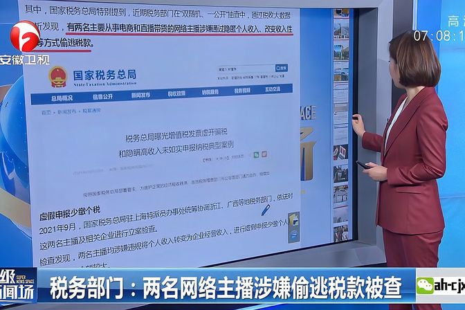 郑州追征一网红600多万税款,专家:年底或有补税潮