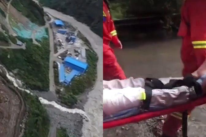 紧急!四川雅安天全县,大暴雨灾害,泥石流致10余人失联