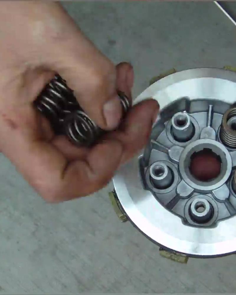 摩托车离合器小鼓总成,主要功能和原理介绍