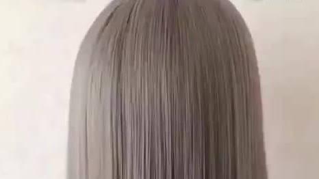 2分钟教你快速学会这款时尚丸子头扎发,圆脸妹子扎上超漂亮!  