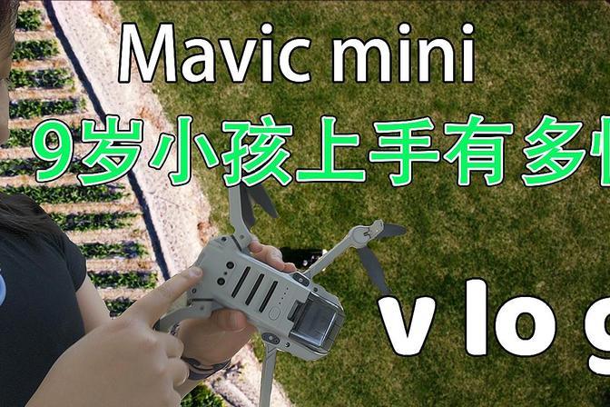9岁小孩上手Mavic mini有多快/7斤重的大鲵娃娃鱼生气会咬人
