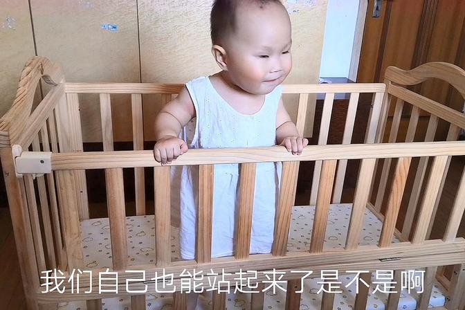 1周岁宝宝不能自己站起来,不会爬,被说有问题,打工妹心碎了