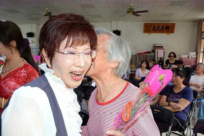 洪秀柱彻底绿营老巢,朱立伦家族:国民党在台南至少坐二望三抢四