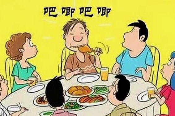 想知道你家孩子有没有教养?一顿饭就能看出来,看看你家占几条