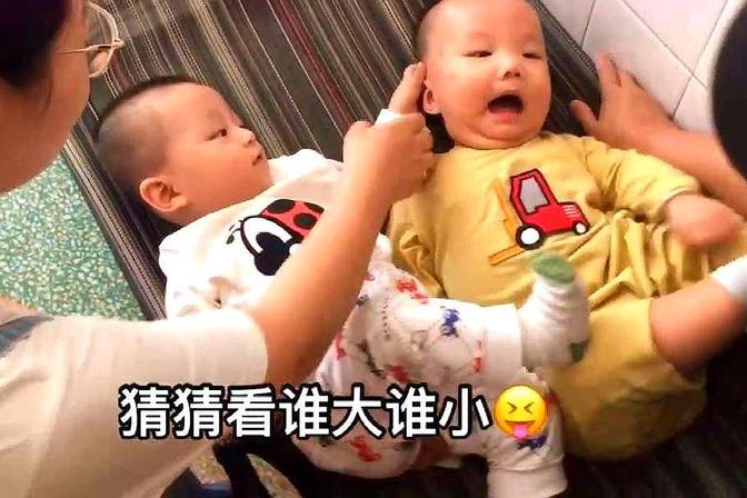 六个月和十个月宝宝,分别母乳和奶粉,没有对比就没有伤害!