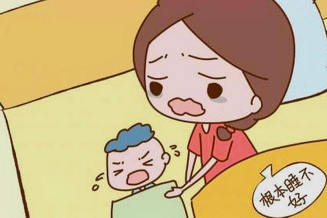 孩子半夜哭闹睡不好,宝妈很难受,你知道宝宝吃这些利于睡眠吗?
