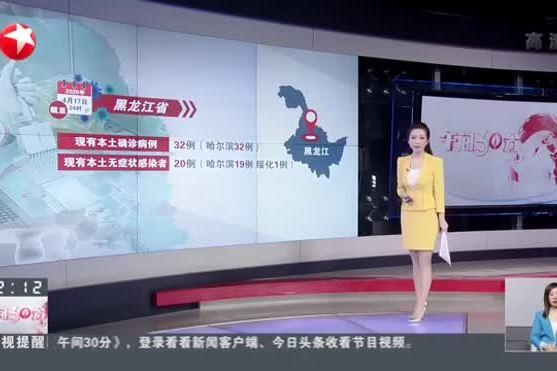 视频-黑龙江:昨日新增7例本土确诊病例 均来自哈尔滨