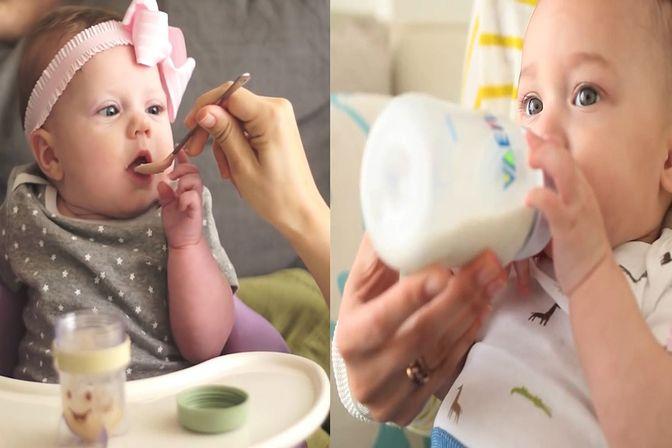 婴幼儿吃饭和喝奶哪个更重要?注意这三点,宝宝吃饭喝奶两不误