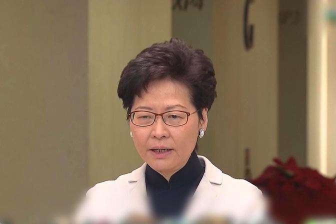 """官宣!香港特首亲自澄清所谓孟晚舟""""三本护照""""说法"""