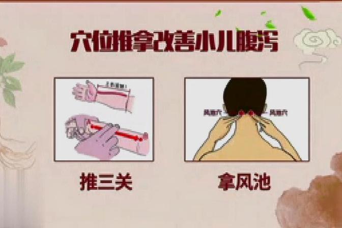 宝宝拉肚子 家长推拿这些穴位可以有效止泻 解决吃药小烦恼