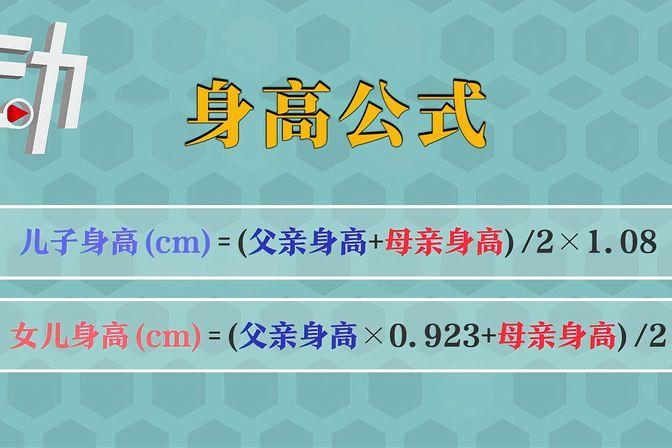 身高的奥秘:遗传因素占80% 中国男性长到1米8不容易