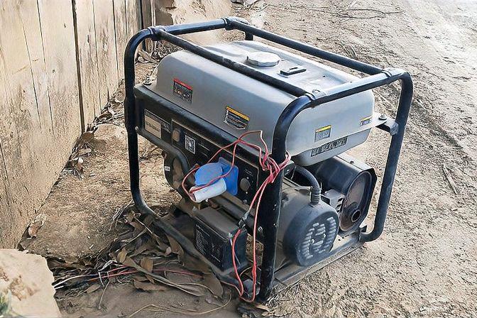 长时间的停电我们依旧可以打电话上网,原来是有发电机给基站供电