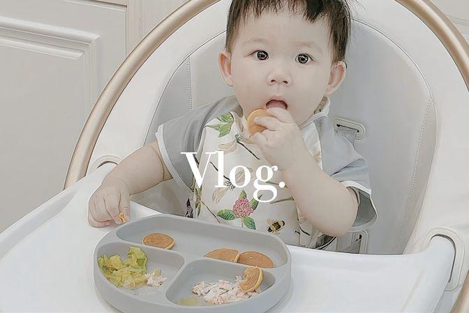 10个月宝宝午餐辅食,全职妈妈的一天