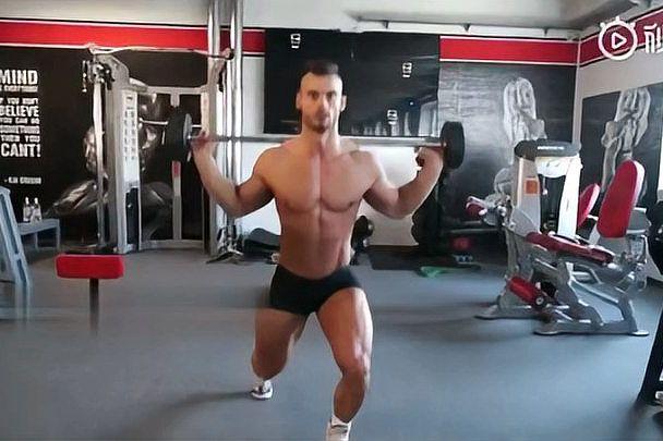 肌肉身材可以就是个子偏矮点