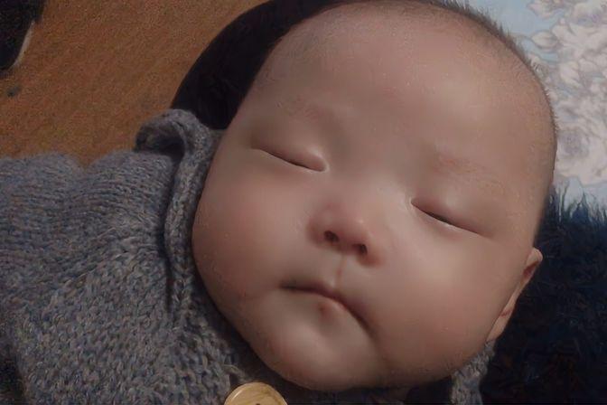 三个多月宝宝感冒加重了,又是流鼻涕又是咳嗽,不舒服闹一天