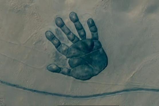 是谁在内蒙古的二连浩特市旁边给了地球一巴掌?