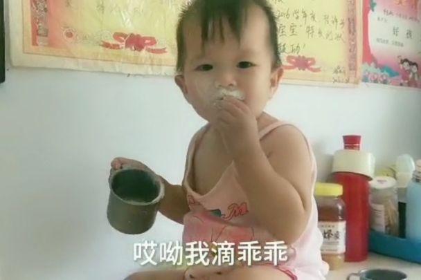 十五个月宝宝一口奶粉不喝,想断奶都难,今还好吃点干奶粉