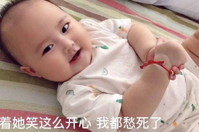 宝妈怀疑七个月宝宝轻微斜颈,通过调整睡姿能不能改善?愁人!