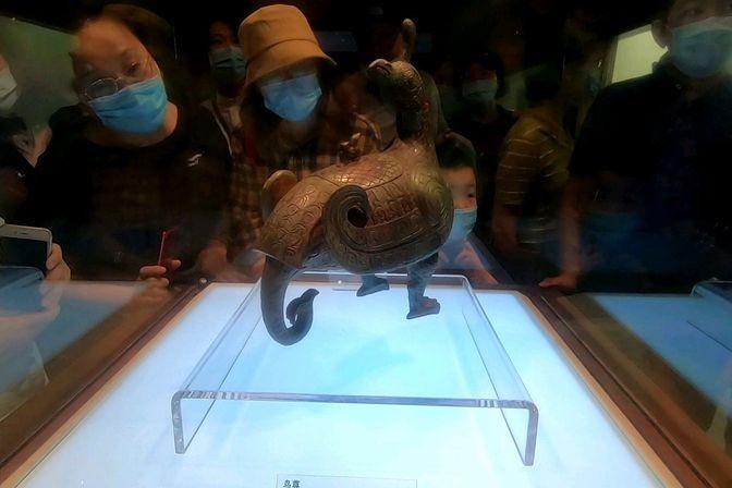 山西博物院推出鸟尊雪糕